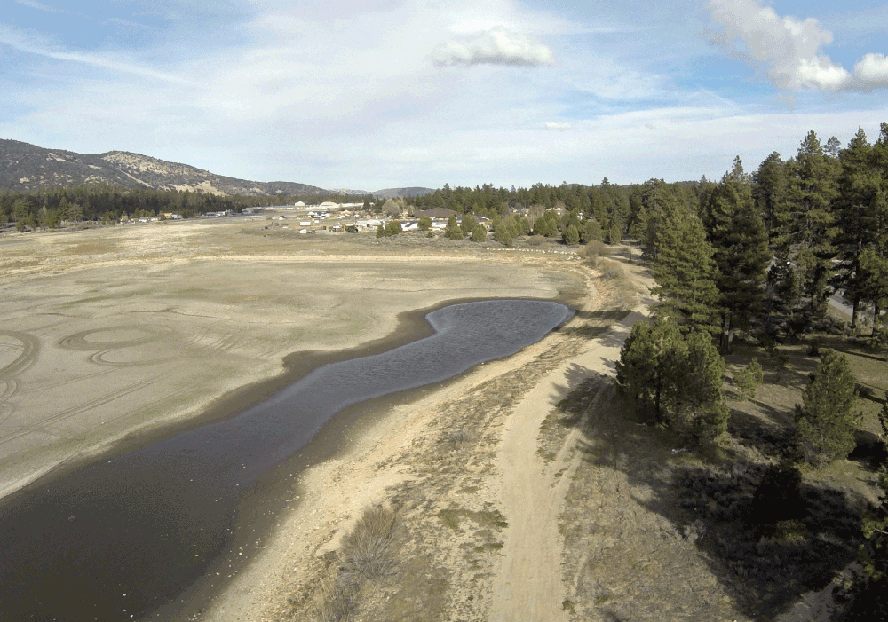 Drought has led to very low water levels in lakes in the Western U.S.